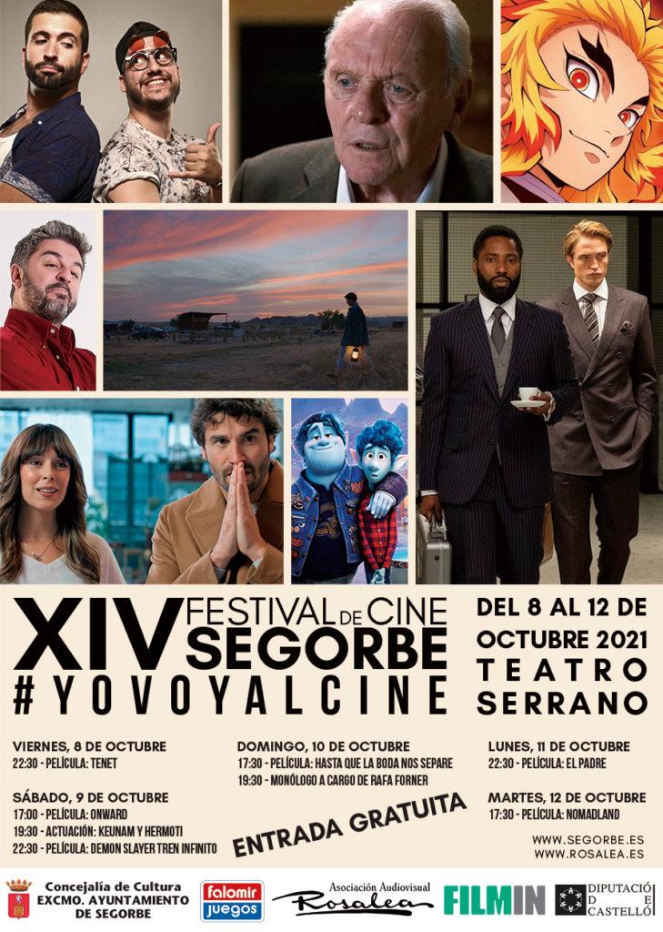 Cartel XIV Festival de Cine de Segorbe
